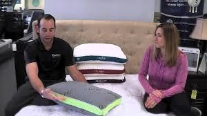 bed gear pillow sweet dreams presents bedgear choosing your pillow youtube