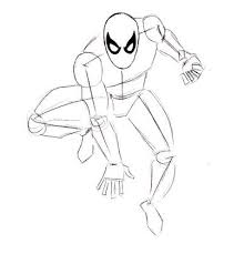 draw spiderman draw eye