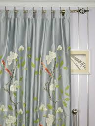 Yellow Faux Silk Curtains Bedroom Silk Curtains In Beautiful Set Thecritui