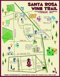 Paso Robles Winery Map Santa Rosa Wine Trail The Terroiriste