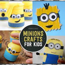 12 minions crafts kids love u003cem u003edespicable u003c em u003e sew
