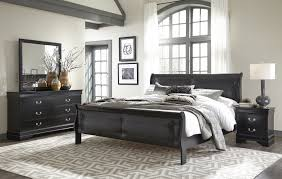 Black Tufted Bed Frame Bedroom Sets Marley Black Tufted Bed Dresser Mirror Set