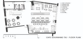 3 Floor Mall by The Cafe Gourmand Taj Mall First Floor Plan Archnet