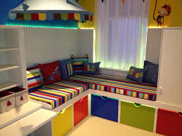 sofa bed for baby nursery wonderful colorfull wood glass modern design playroom ideas kids