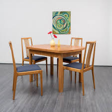 extendable cherry dining table 1950s for sale at pamono