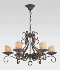 Wrought Iron Ceiling Lights Wine Barrel Chandelier Home Designs