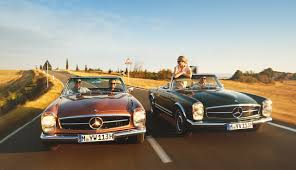 mercedes vintage car travel vintage car tour to tuscany