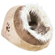 Trixie Cat Hammock by Trixie Gray Minou Cuddly Cat Condo 36281 The Home Depot