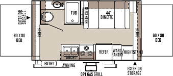 Expandable Floor Plans Flagstaff Shamrock Travel Trailers Floor Plans Access Rv