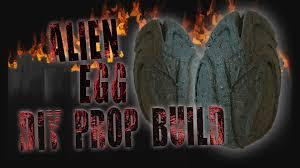 halloween laboratory props alien egg halloween prop build youtube