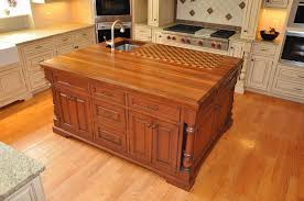 kitchen island butcher block tops the trendy look of butcher block countertops cabinets by graber