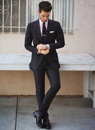 shirt and tie combinations with a black suit the idle man