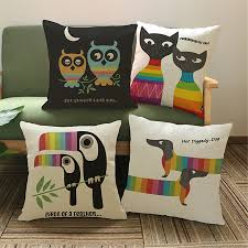 compare prices on decorative pillow styles online shopping buy animal owl velvet cushion cover sofa decorativos vintage pouf outdoor scandinavian style decorative pillows case home