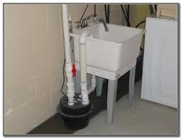Utility Sink Drain Sump Pump Sink And Faucets Home Decorating