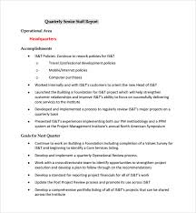 service review report template sle project quarterly report template 8 free documents in pdf