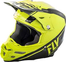 fly motocross gear 2018 fly racing f2 carbon rewire helmet hi vis black x mx atv bmx