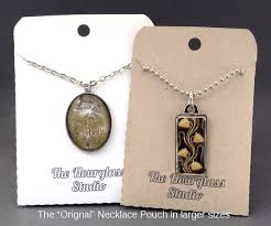 display holder necklace images Necklace pouches necklace envelopes necklace pockets jewelry jpg