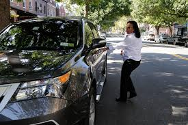 car service driver new york nyc u0027s women only taxi service brakes for now