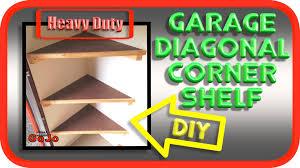 diagonal floating corner shelves heavy duty how to diy youtube
