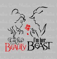 studio his and hers his beauty beast svg studio eps and jpeg digital downloads
