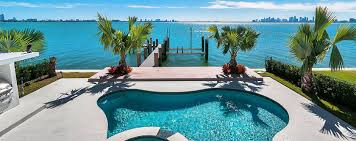 miami luxury mansions u0026 villa rental waterfront vacation rental
