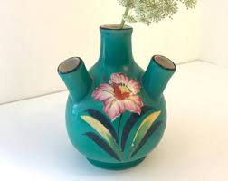 Antique Hand Painted Vases Hand Painted Vase Etsy