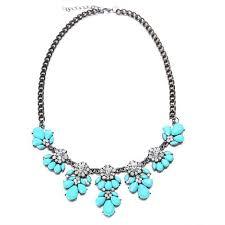 light blue statement necklace cheap light blue bib necklace find light blue bib necklace deals on