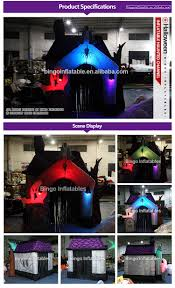 Halloween Inflatables Haunted House by Inflatable Disco Dome Halloween Inflatable Haunted House Home Use