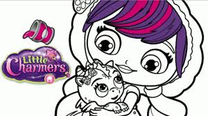 little charmers lavender u0026 flare dragon nick jr coloring book