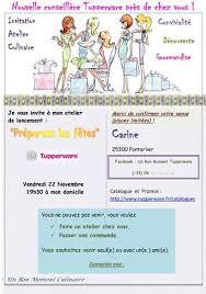 atelier cuisine tupperware invitations ateliers culinaire c koi ca overblog com