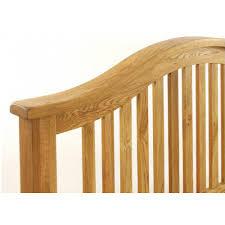 vancouver 5ft solid oak king size bed frame