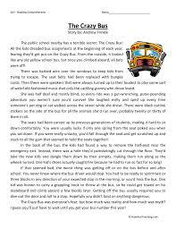 grade reading comprehension worksheets fun teaching