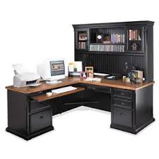 Black L Shaped Desk With Hutch Black L Shaped Desk Black L Shaped Desk For Convenience