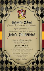 free printable harry potter birthday invitations best 25 harry