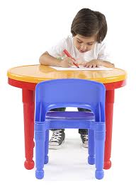 plastic play table and chairs amazon com tot tutors kids 2 in 1 plastic compatible activity