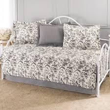 bed u0026 bedding amberley 5 piece daybed comforter sets in grey and