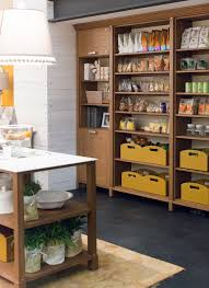 italian kitchen design features useful items openly displayed