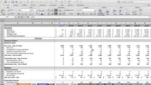 Financial Modeling Excel Templates Financial Modeling For Startups Modeling Revenues Part 2