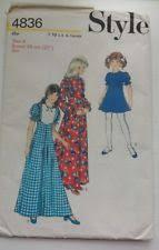 girls dress pattern ebay