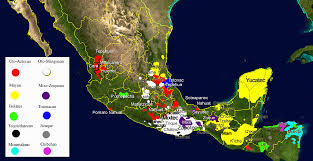 Mexico And Central America Map by A Guide To Mexico U0027s Indigenous Languages