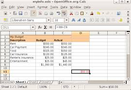 How To A Simple Spreadsheet Create A Spreadsheet Openoffice Documents