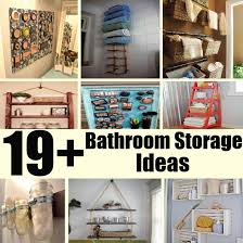 19 unique and innovative bathroom storage ideas for your home