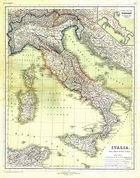 Italian Map Italy Map 1898 Italy U2022 Mappery