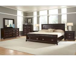 Bedroom Furniture Showroom by Najarian Furniture Bedroom Set With Storage Sonoma Na Sn 4set