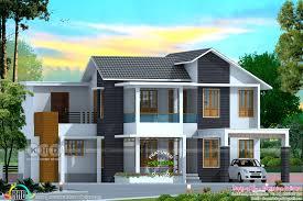 Kerala Home Design Kozhikode by 2325 Sq Ft 4 Bedroom Mixed Roof Home Design Kerala Home Design
