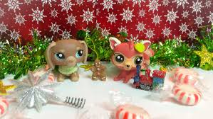 christmas easy diy craft littlest pet shop review youtube