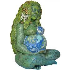 millennial gaia statue by oberon zell mother earth gaia wicca statue