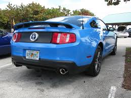 2011 Black Mustang Gt Anyone Remove The Gt Cs Stripes The Mustang Source Ford