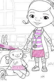 doc mcstuffins lambie coloring pages doc mcstuffins coloring
