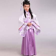 traditional ancient chinese costume for costume hanfu child girls